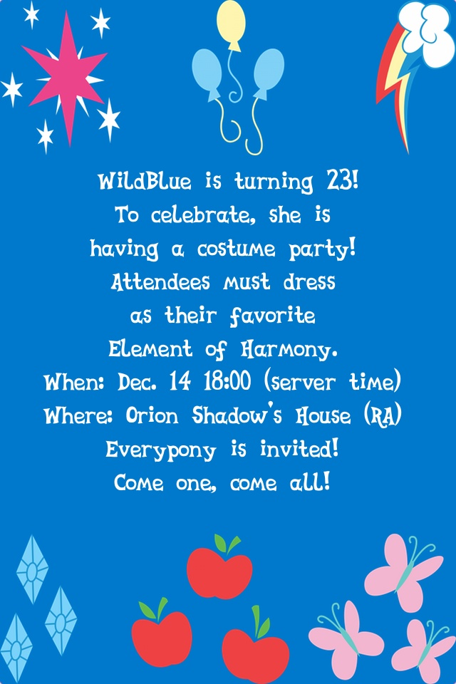 Invitation letter to a birthday party militaryalicious birthday party fillydelphia my little pony friendship is invitation letter stopboris Image collections